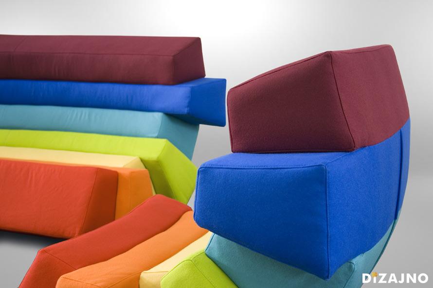 Design sofa IRIS-DIZAJNO