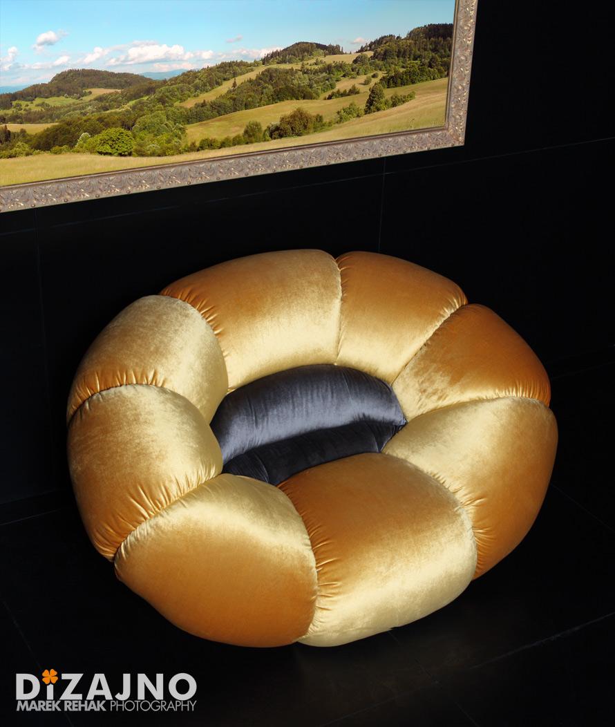 Design sofa FLORA-DIZAJNO