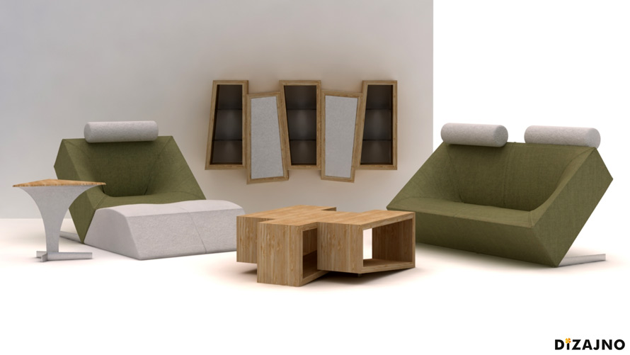Design sofa GRAVITY-DIZAJNO